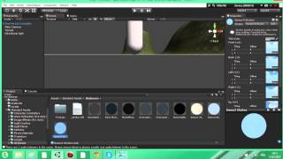 Уроки по Unity 3d #2  Создание ландшафта, неба, персонажа и воды