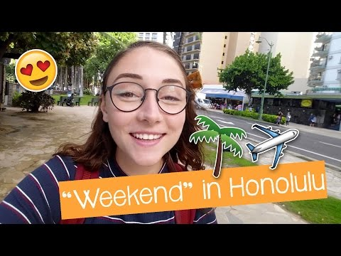"""Weekend"" in Honolulu"