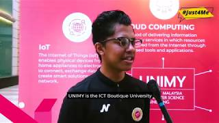 UNIMY Open day Interview - Azrul Ikhwan (Alumni)