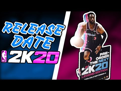 NBA 2K20 COVER ATHLETE and RELEASE DATE Revealed For Legend Edition! |