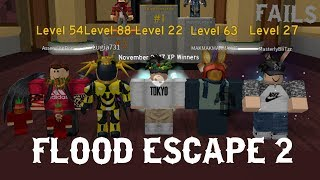 Roblox Flood Escape 2 /w Lugia731 - Fun on my private server!