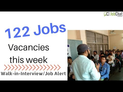 Jobs in Gujarat - 122 jobs in 3rd week of April - JobAlert19