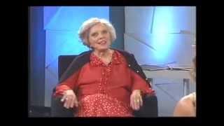 Programa TVunam con Elena Poniatowska