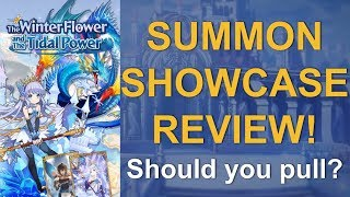 Dragalia Lost Showcase Review - Winter Flower and Tidal Power