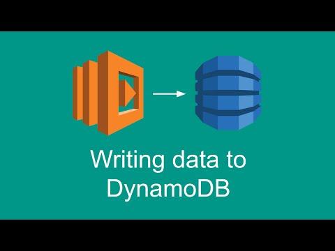 Writing Data To DynamoDB (Getting Started With AWS Lambda, Part 7)