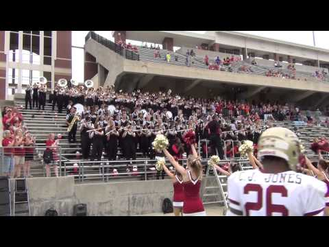 Cy-Woods Fight Song by the Marching Band on  9-27-2014