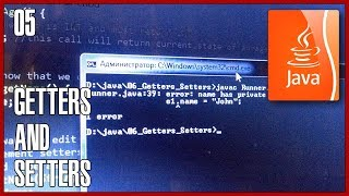 JAVA Tutorial 05 OOP How to use getters and setters