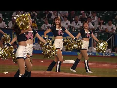 20190924 M☆Splashの試合前パフォーマンス♪千葉、心つなげよう♪