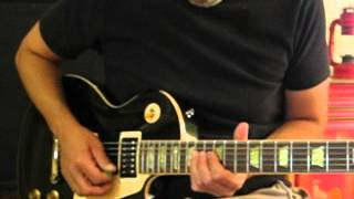 Foreigner - Blue Morning, Blue Day - Guitar Solo Tutorial