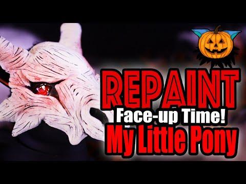 Mlp Halloween Special 2020 Halloween special 2020 collab 🎃 Doll Repaint: Kappa Yokai (swamp