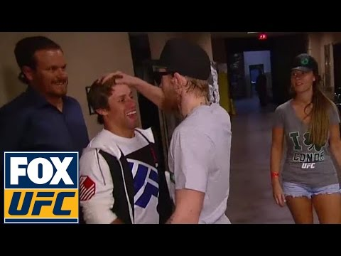 Conor McGregor and Urijah Faber have altercation before weigh-in | UFC ON FOX