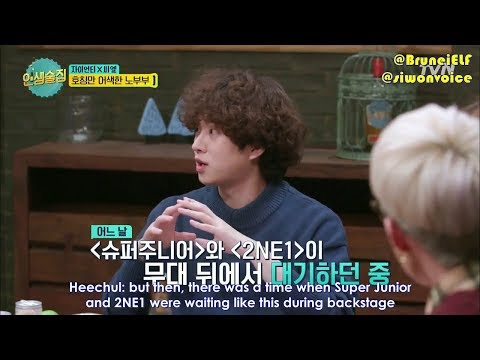 [ENGSUB] 171208 tvN Life Bar EP48 - Super Junior × CL backstage farting story