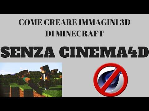 ●COME CREARE IMMAGINI 3D DI MINECRAFT SENZA CINEMA 4D! ONLINE! [MINECRAFT PREMIUM & SP]●