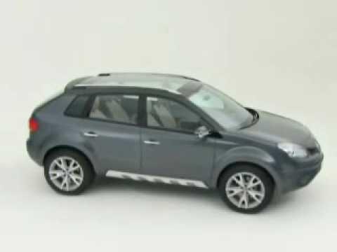 Renault Koleos Concept Youtube