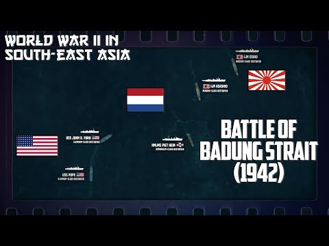 WW2 in SouthEast Asia | Surprised at Bali and Battle of Badung Strait (1942)
