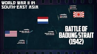 WW2 in South-East Asia | Surprised at Bali and Battle of Badung Strait (1942)