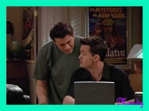 Friends - TOW Barry and Mindy's Wedding - Joey Scenes