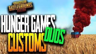 """HUNGER GAMES (DUOS)"" CUSTOM GAMES PUBG Mobile"