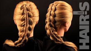 Делаем прическу «Коса в косе» своими силами - видеоурок (мастер-класс) Hair's How