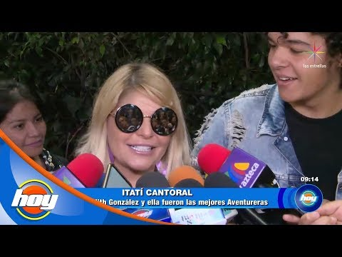 ¡Itatí Cantoral asegura que Edith González fue la mejor Aventurera! | Hoy