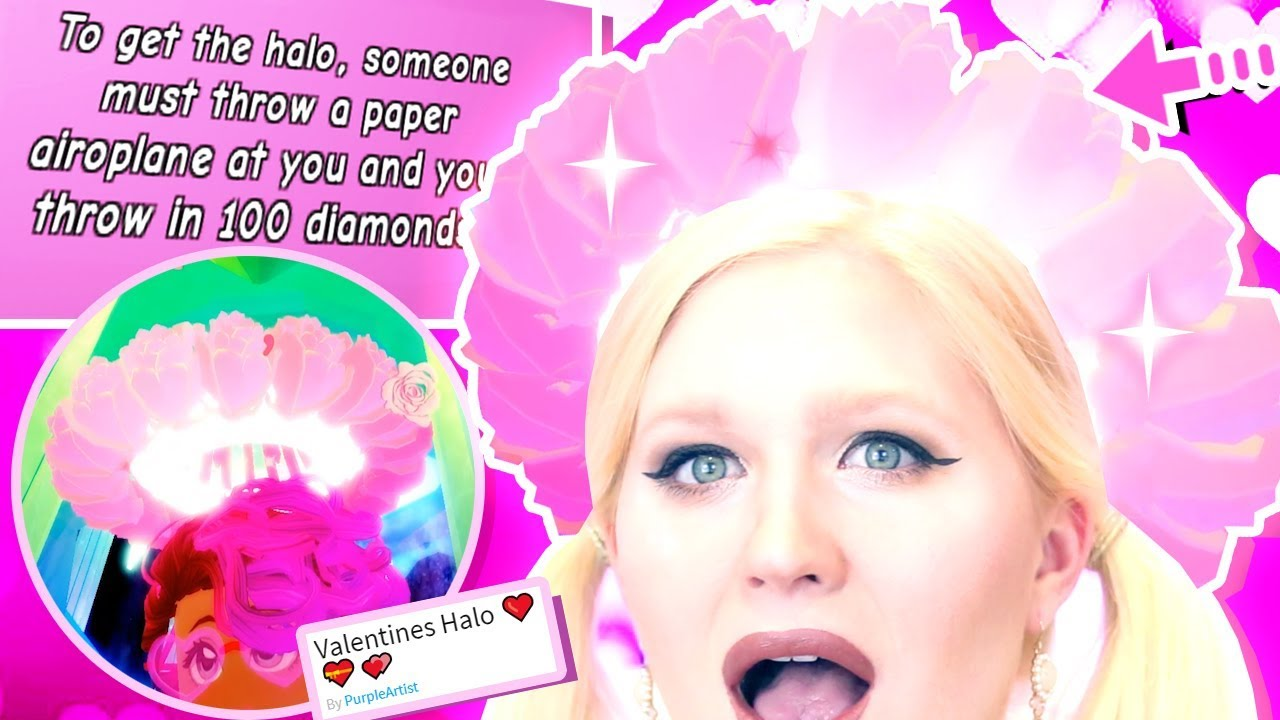 Valentines Halo Roblox Royal High These Games Show You How To Get The Valentine S Halo Royale High Update Youtube
