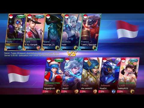 Life Steal Ruby Sadis Di Christmas Mode - Mobile Legends Indonesia