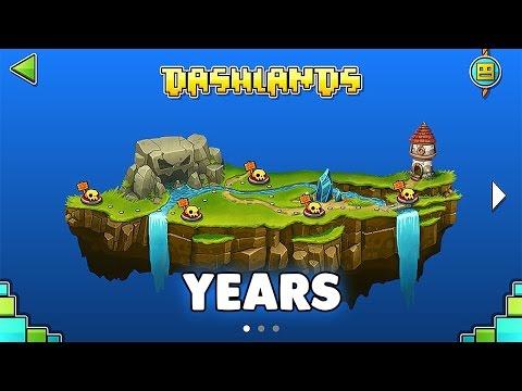 "Geometry Dash World - ""Years"" 100% Complete | GuitarHeroStyles"