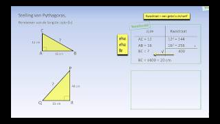 Stelling van Pythagoras II