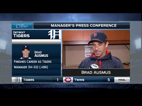 Tigers LIVE Postgame 10.1.17: Brad Ausmus