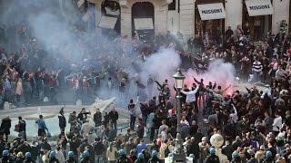 [On Tour 2015] Feyenoord supporters in Rome || AS Roma - Feyenoord