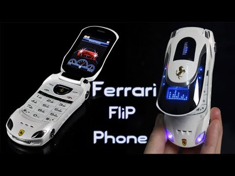 Ferrari Design Flip Mobile Phone Review And Hands On || Digital Hindustan