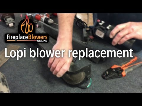 Blower Replacement in Lopi, Avalon & Travis Fan Kits