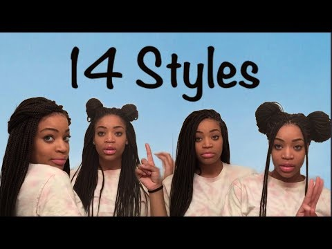 14 Ways to Slay your Box Braids
