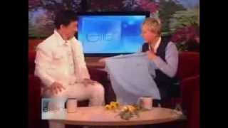 Jackie Chan in Ellen show