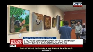 3 Filipino contemporary artists, lumahok sa art exhibit sa Montreuil, France