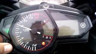 Setting Shift Light Yamaha YZF-R25