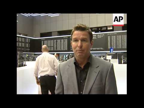 Frankfurt Stock Exchange opens