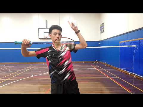 Badminton | Backhand Low Serve | Technique | Tips For Beginners