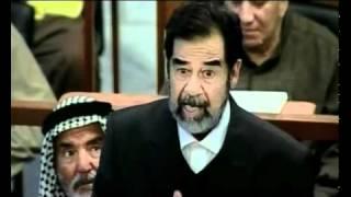 صدام حسين يوضح كيف كان...