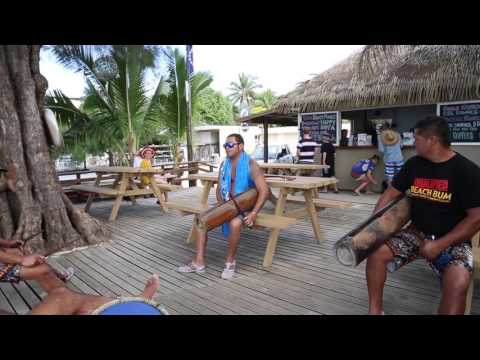 Iles Cook Rarotonga Musiciens / Iles Cook Rarotonga Musician
