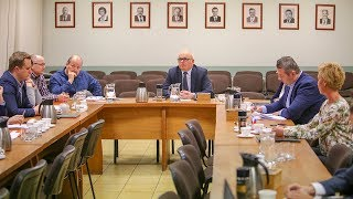 Posiedzenie Komisji Gospodarki Komunalnej, Infrastruktury Technicznej i Ochrony Środowiska