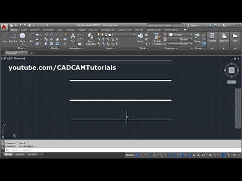 AutoCAD Line Thickness / Lineweight does not Change | Not Showing | Not Changing | Display