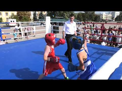 Иван Полупанов: Юные боксеры выступили на День физкультурника
