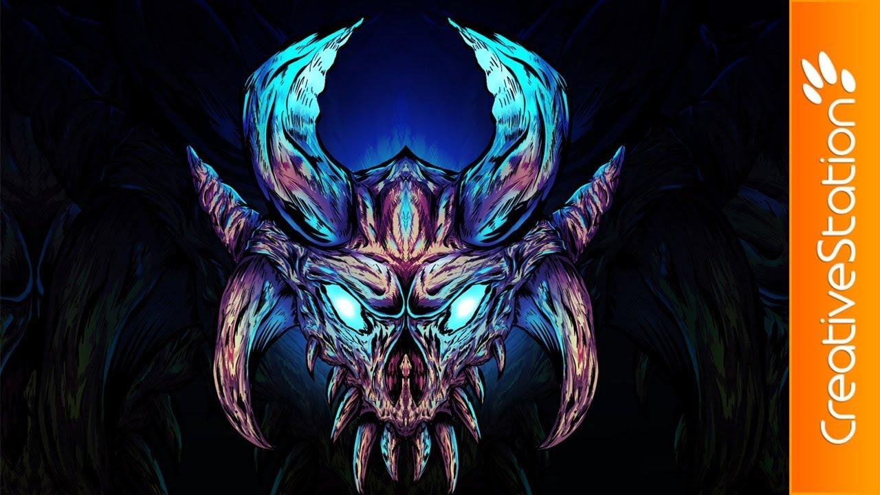 Ragnarok Fortnite Speed Painting Photoshop Creativestation
