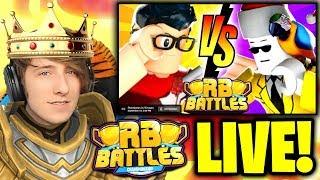 🔴 HYPER vs ANT!!! (LIVE REACTION) | ⚔️ Roblox RB Battles Championship Event | 1 Million Robux Prize