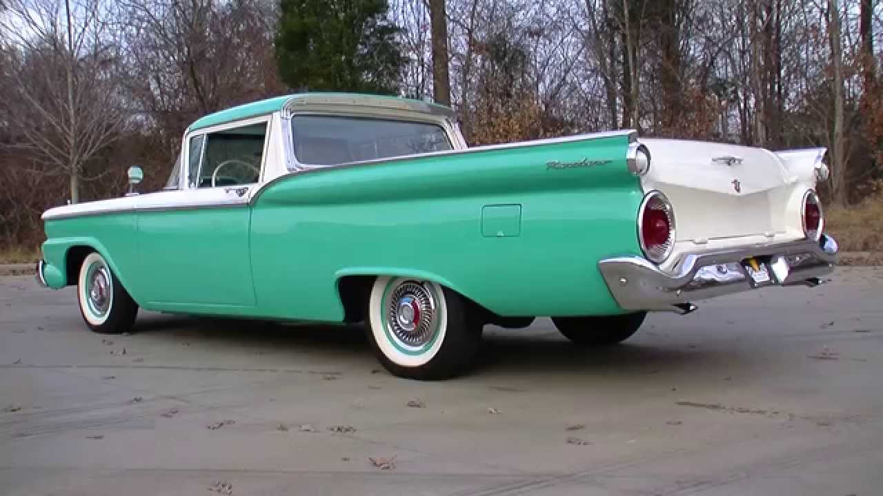 1958 1959 ford ranchero [ 1280 x 720 Pixel ]