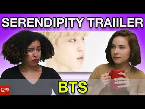 "BTS ""Serendipity"" Trailer • Fomo Daily Reacts"