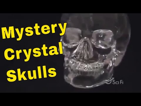 Mystery Crystal Skull - Secret Skulls - Holy Crystal Skull