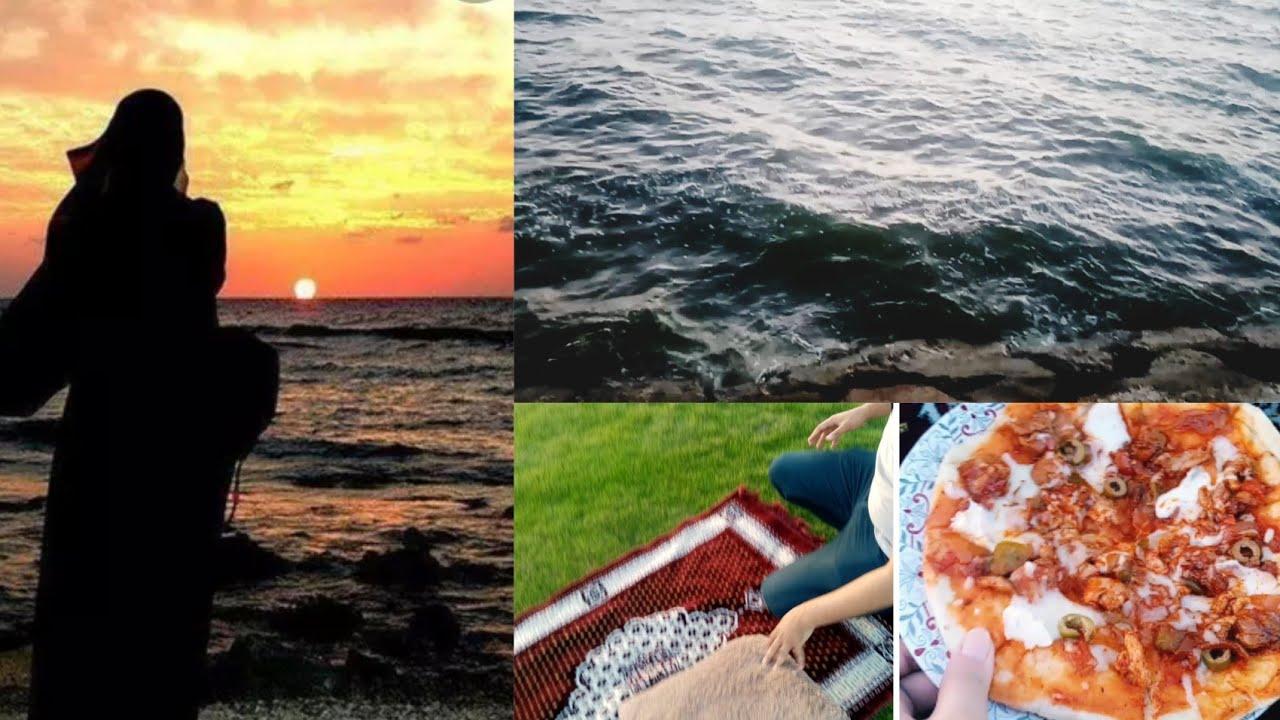 Buhat Din Bad Itni Enjoyment Ki||Hubby Ka Manpasand Pizza or Beach