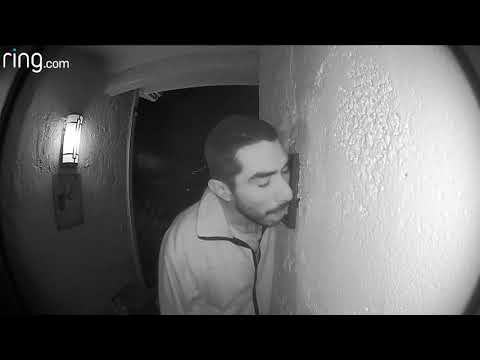 The Ace & TJ Show - Man CAUGHT ON CAMERA Licking a Doorbell!